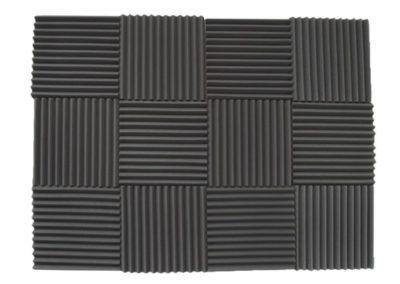 12-Pack-Acoustic-Panels-Studio-Foam-Wedges