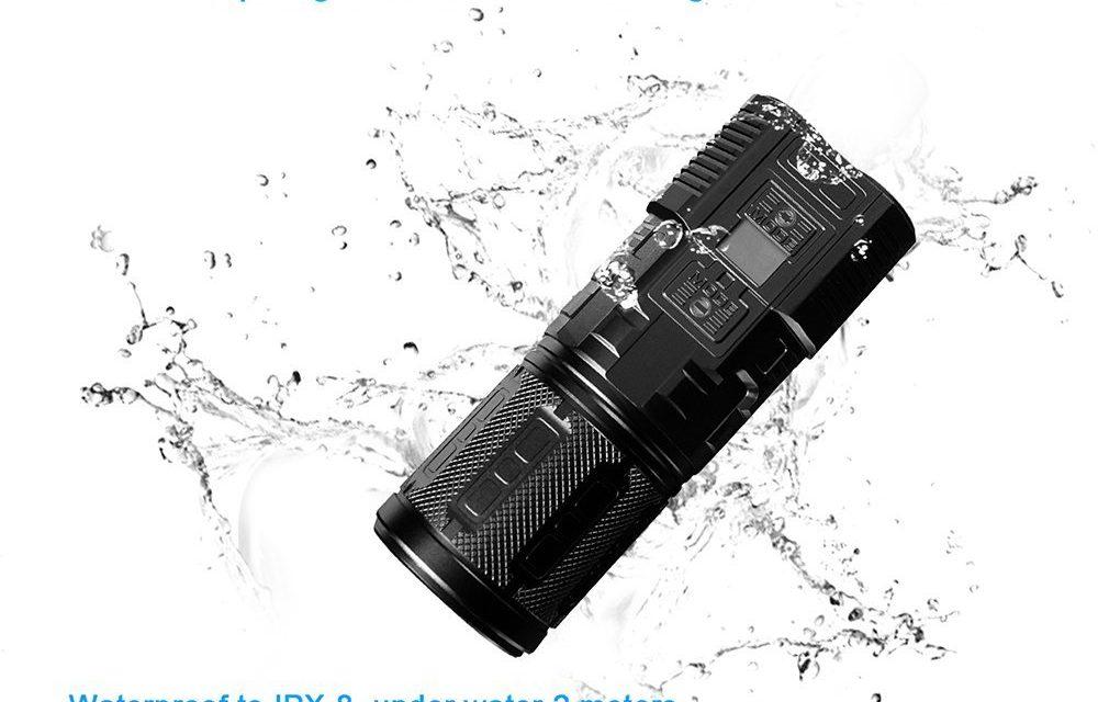 IMALENT DDT40 4200 Lumens Flash Light Review