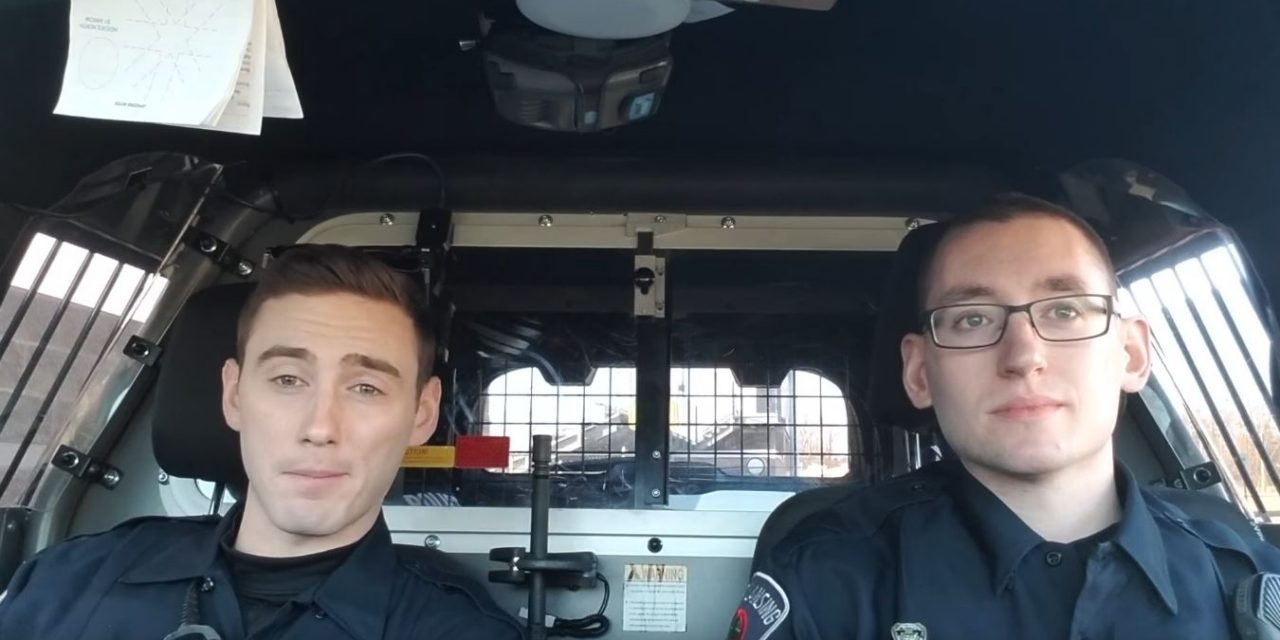Two Hot Cops – ST Patricks Day Ride Along