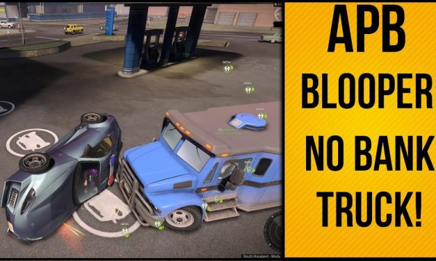 Not A Bank Truck Dude | APB Reloaded Funny Moment