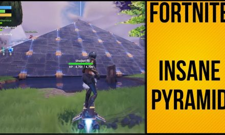 Insanely Large Fully Protected Pyramid – Fortnite Save The World
