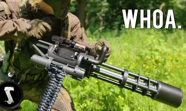 Insane Airsoft Minigun – 3000RPM!