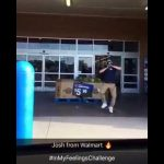 Just Wow! Great Dancer! Josh From Walmart In My Feelings Challenge