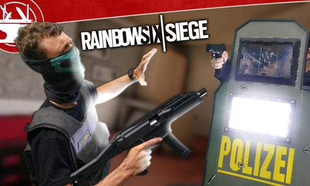Real Life Blitz Shield is BRIGHTER THAN THE SUN!