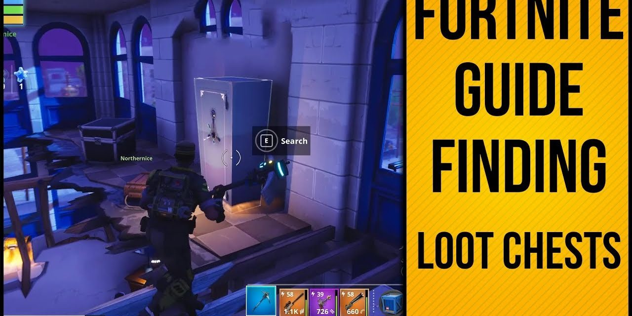 How To Find Loot Chests In Fortnite Save The World