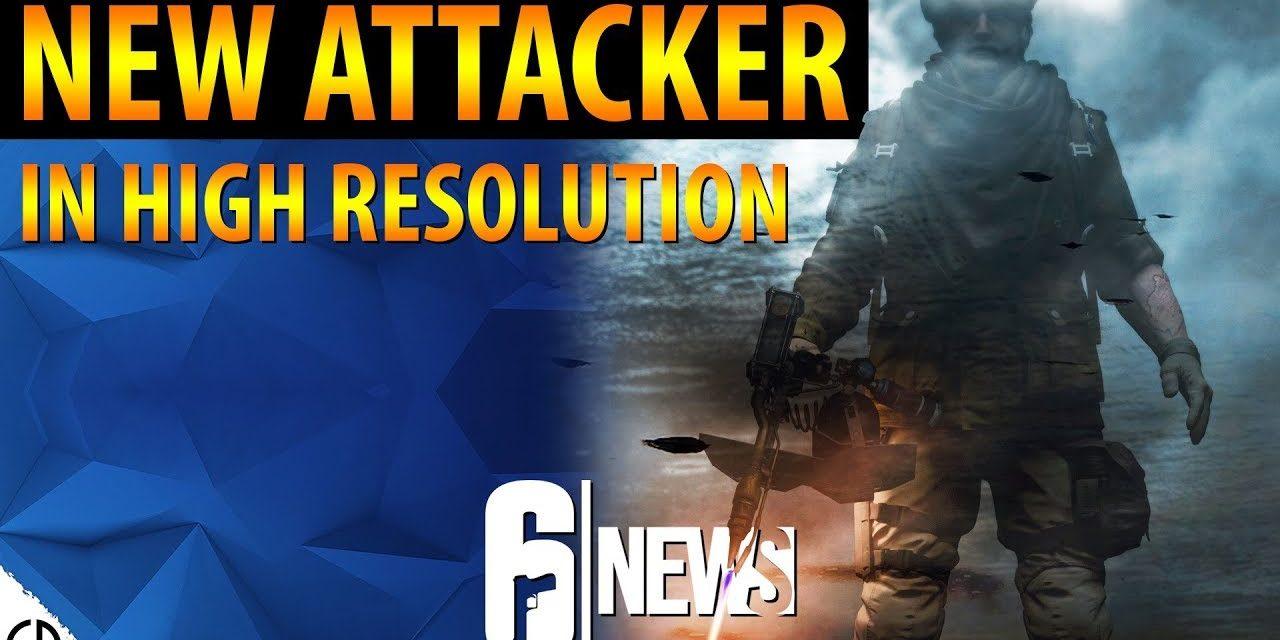 New Blowtorch Attacker – Rainbow Six Siege