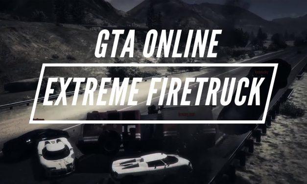 Extreme Firetruck Road Battle – GTA Online Adversary Mode