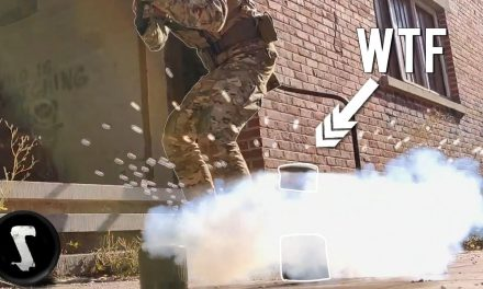 The REAL Airsoft Bouncing Betty Landmine