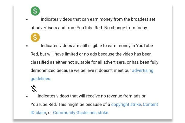 How To Avoid Getting Demonetized On YouTube 3
