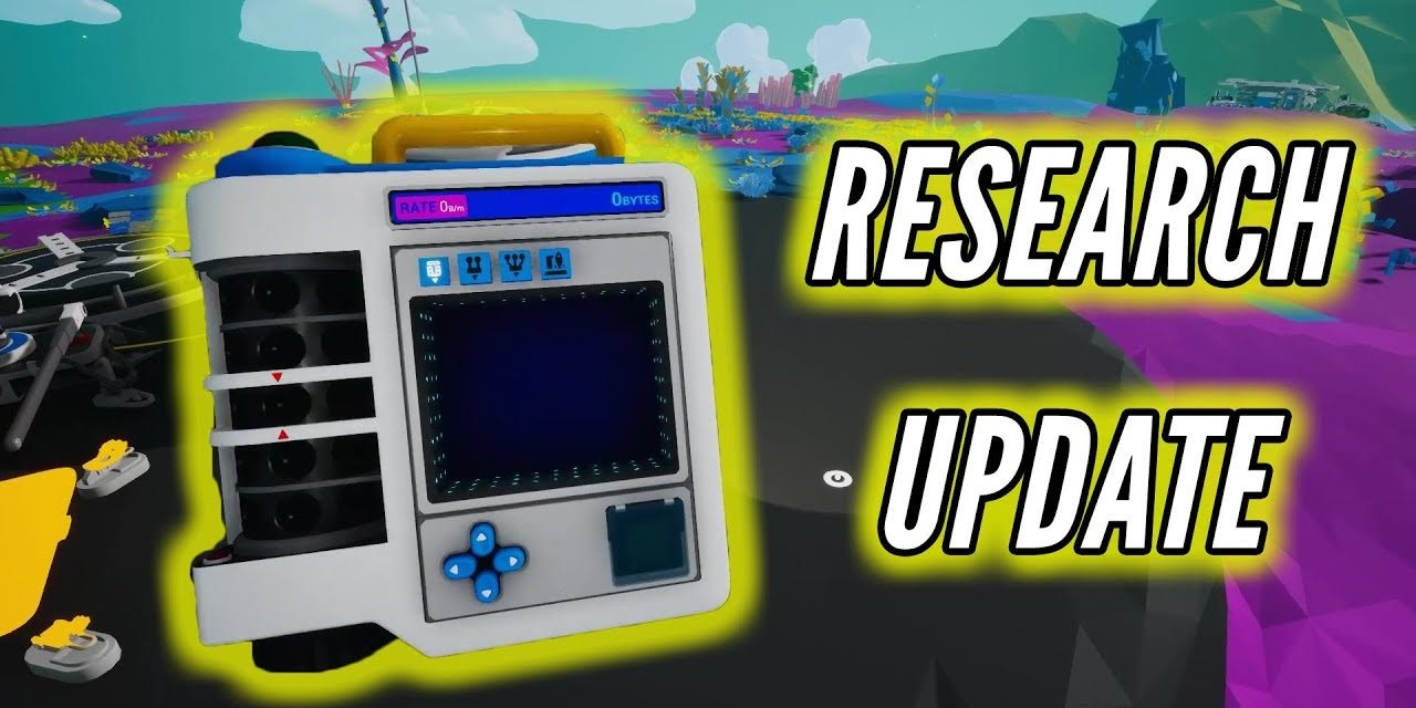 Astroneer Research Tablet Update 0.10.2