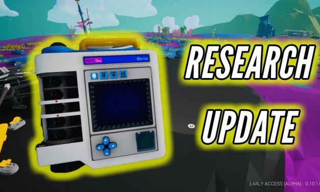 Astroneer Research Tablet Update 0.10.2
