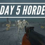 Crazy Day 5 Soldier Zombie Horde – 7 Days To Die