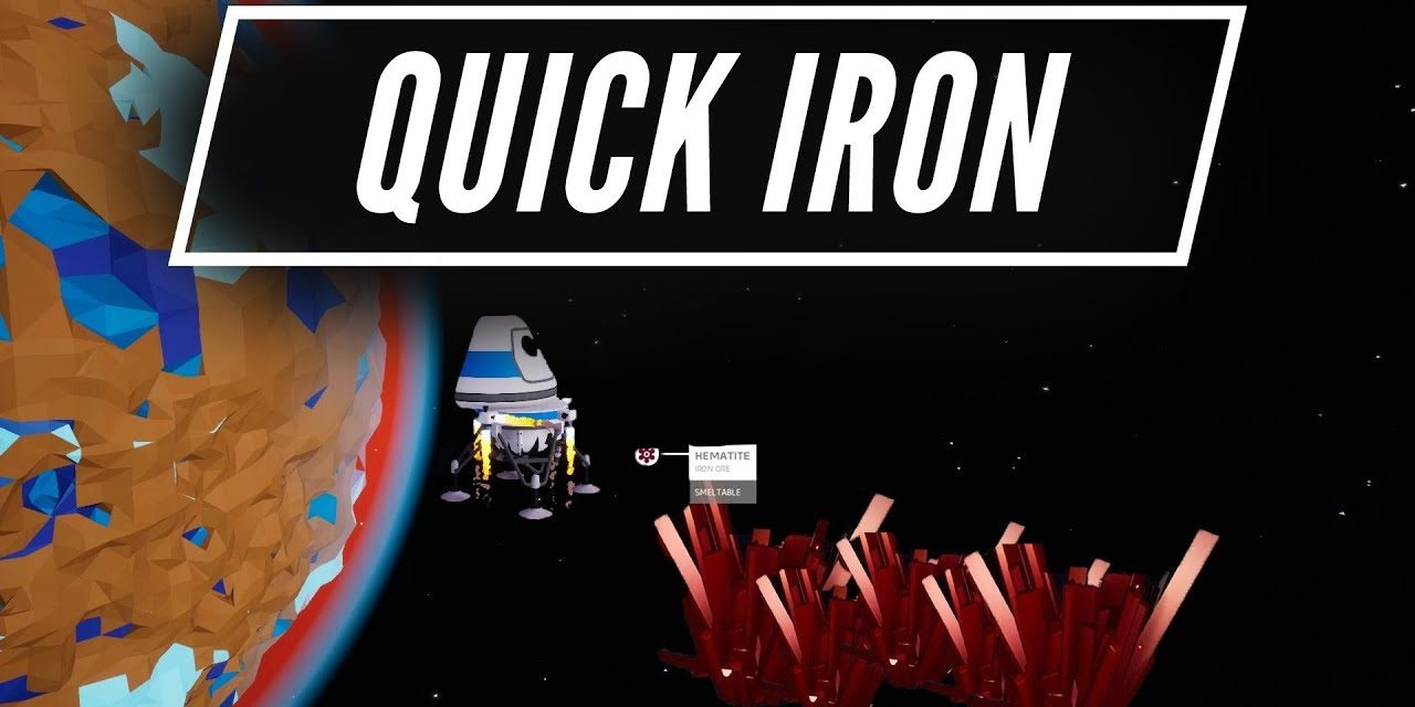 Quickest Way To Get Iron – Astroneer Starter Guide