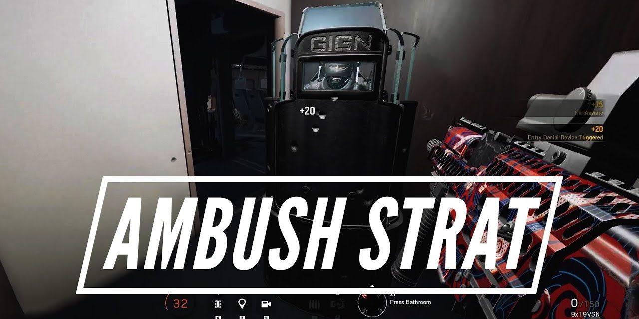 Ambush Strat On Plane – Rainbow Six Siege Highlight