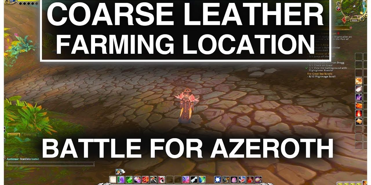 Awesome Coarse Leather Farming Location | World of Warcraft