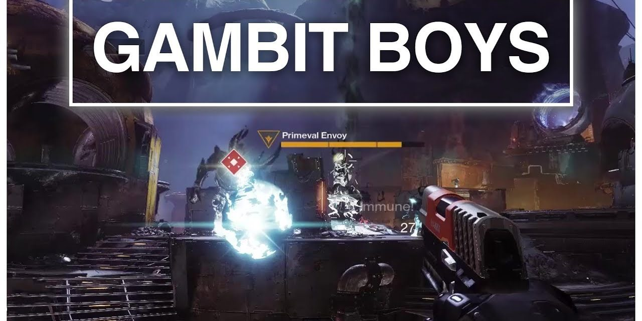 Destiny 2 Gambit With Shady, Buckley, Northern & Silentwisher