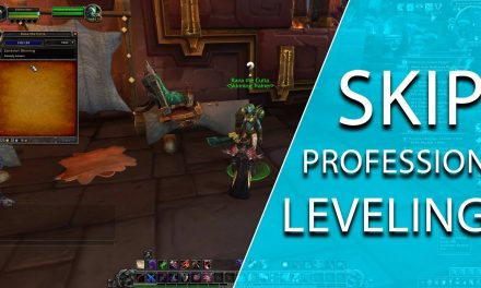 How To Skip Old World Profession Leveling In World Of Warcraft