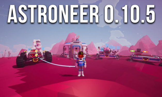 Astroneer Update 0.10.5 Exploring The Exotic Moon   Terrain 2.0 [Part 1]