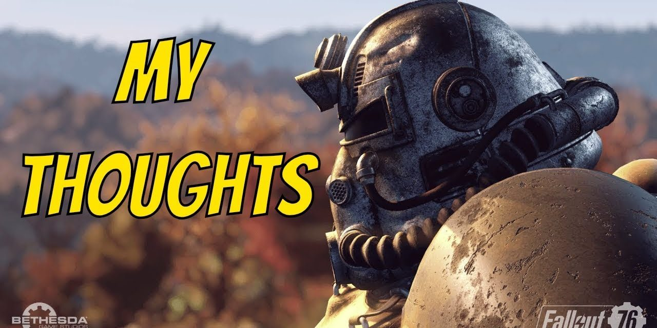 My Thoughts On Fallout 76 | Gaming Talk Live Stream 🔴