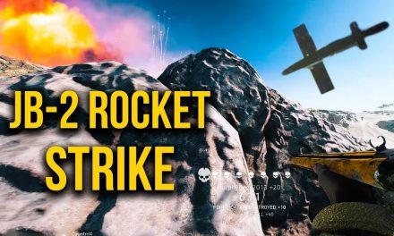 Awesome JB-2 Rocket Strike | Battlefield V