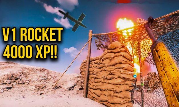 Awesome V-1 Rocket Strike – 4000 Xp Points! | Battlefield V