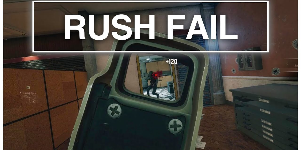 Enemy Team Rush Fail | Rainbow Six Siege