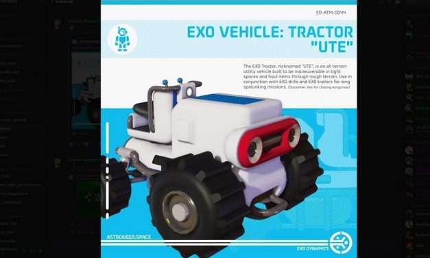 Astroneer News: New Tractor Rover, New Suits & More