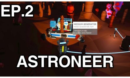 Found A Medium Generator In A Cave! – Astroneer 1.0 Playthrough №2