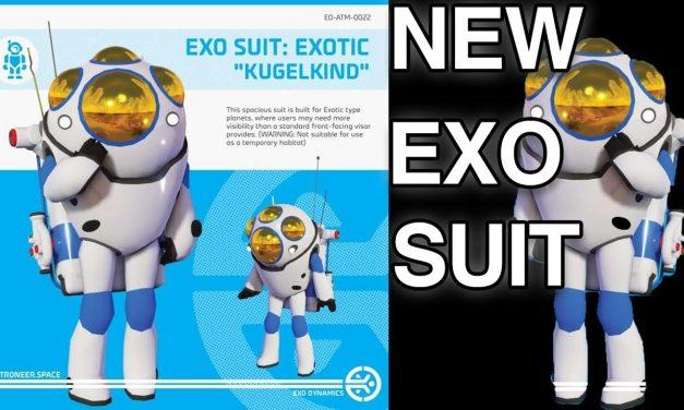 "Astroneer News: New Exo Suit ""Exotic Kugelkind"" & Confirmed Customization?"