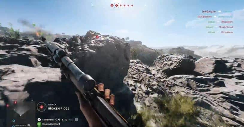 Nice Bomb Run DNA – Battlefield 5