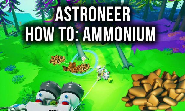 3 Easy Ways To Get Ammonium In Astroneer
