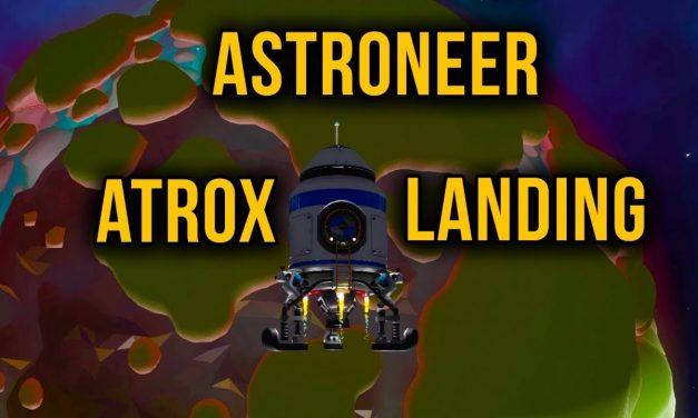 Gathering Helium From Atrox – Astroneer Episode 10