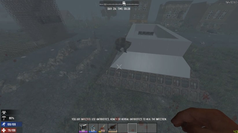 Scared In 7 Days To Die