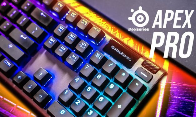 Steelseries Apex Pro – Pretty Neat Keyboard