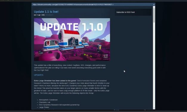 Astroneer Update 1.1.0 Out Now! Patch Notes!