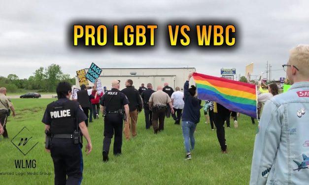 Pro LGBT Counters WBC Protest – Sedalia Missouri 5.2.2019