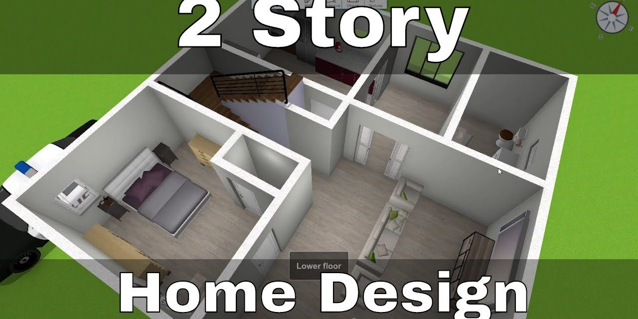 Awesome Two Story House Design | Home Design 3D