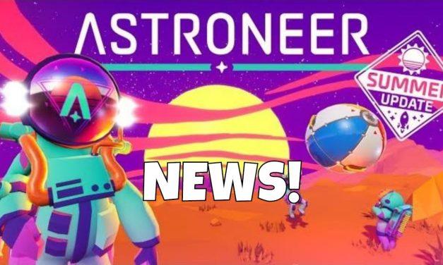 Astroneer: Summer Update – Storage,Spotlights & More