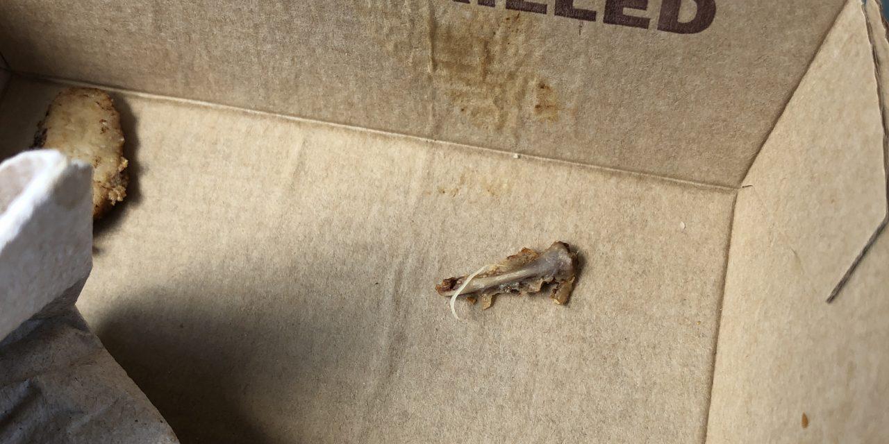 Beware! Bone Found In Artisan Chicken Sandwich At McDonalds