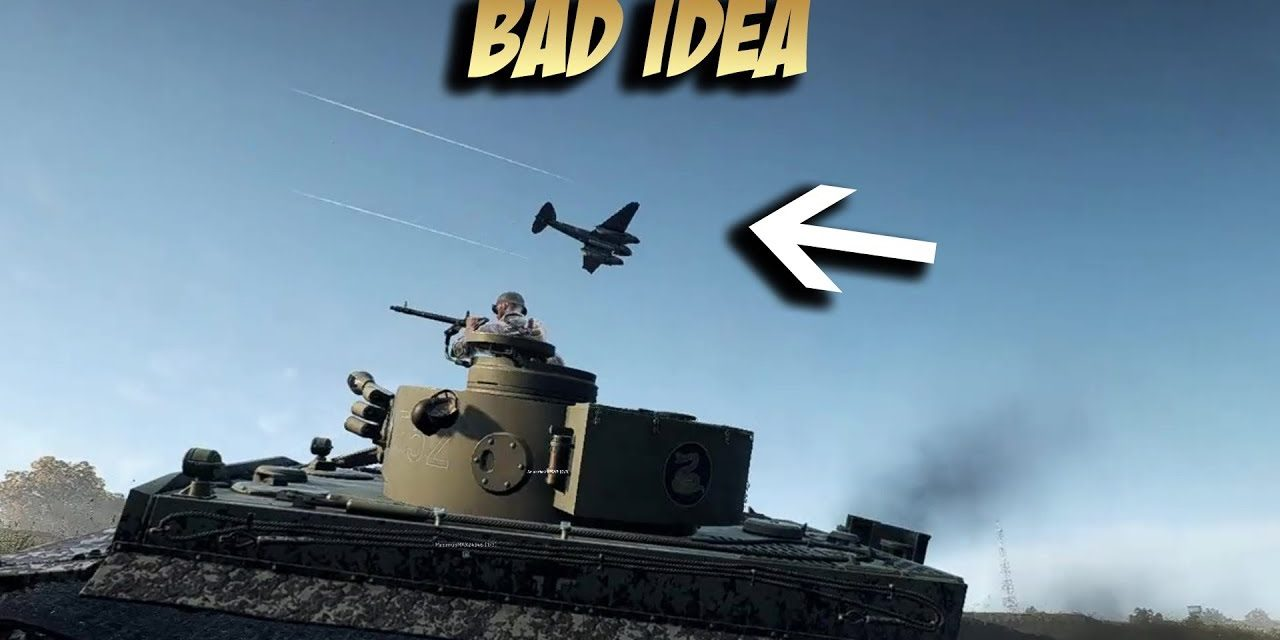 Battlefield 5: Don't Fly Low Or Else This Will Happen
