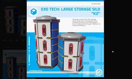 Astroneer News: Exo Tech Large Storage Silo K2