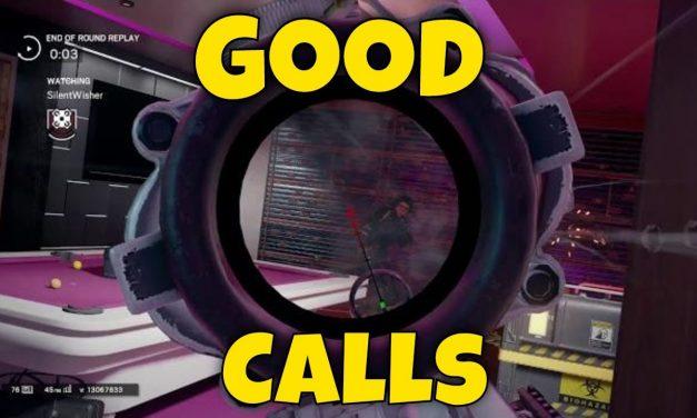 Rainbow Six Siege – Good Calls & Walking Through Walls