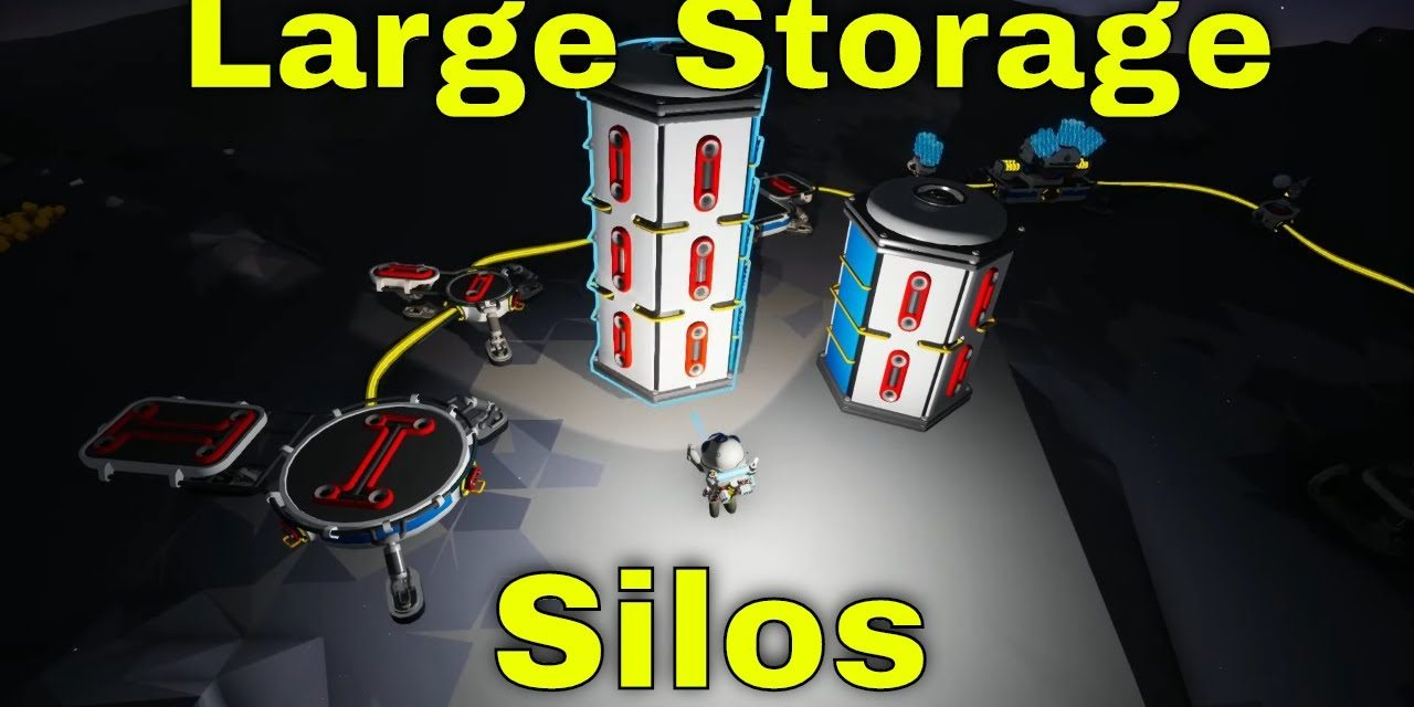 Large Storage Silo A & B | Astroneer Lunar Update