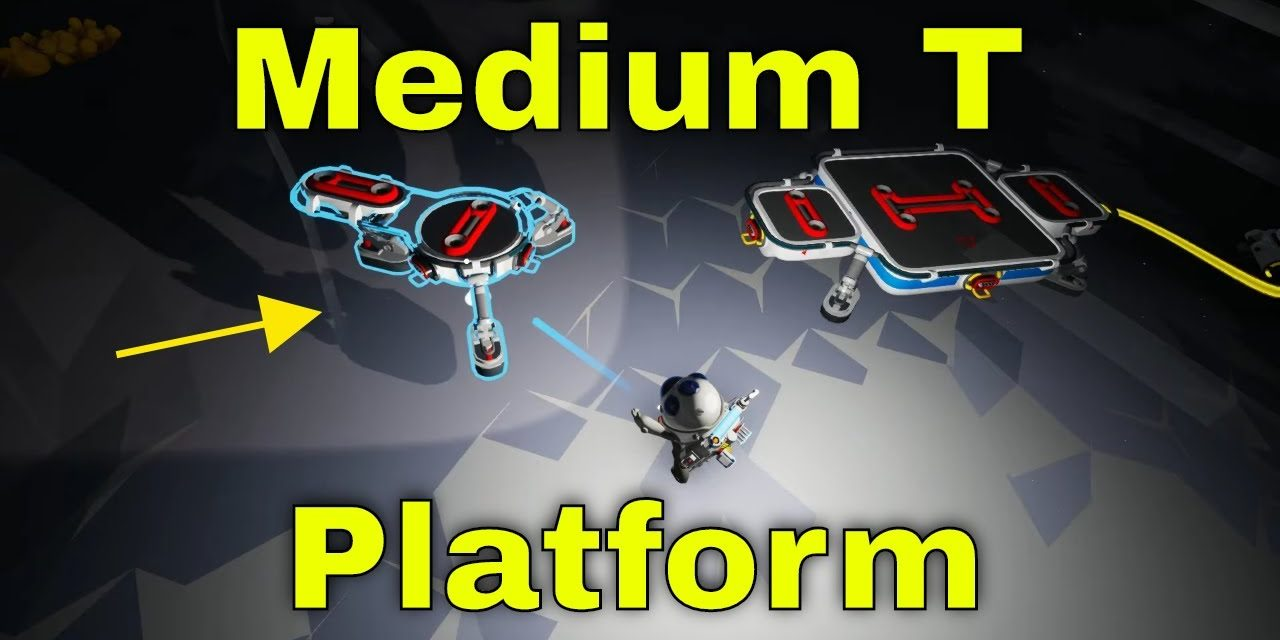 Medium T Platform | Astroneer Lunar Update