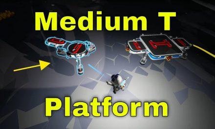 Medium T Platform | Astroneer Lunar Update