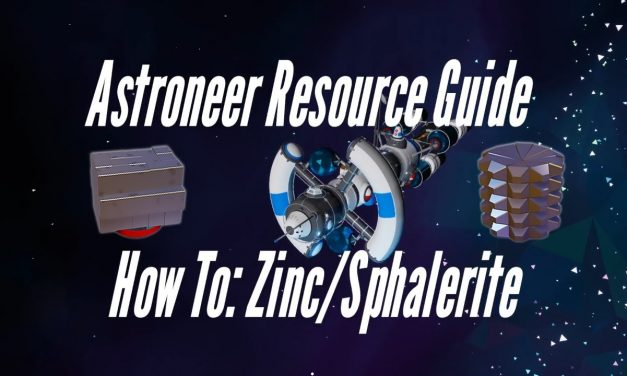 Astroneer Resource Guide: Zinc/Sphalerite
