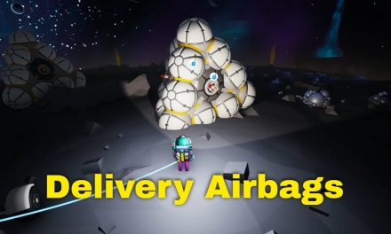 Fireworks Delivery Airbags | Astroneer Lunar Update