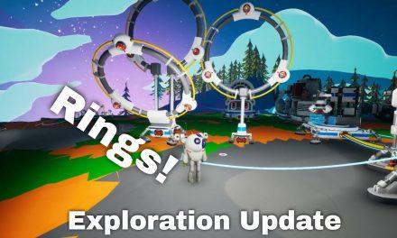 Arch Platform, Hoops & Rings | Astroneer Exploration Update