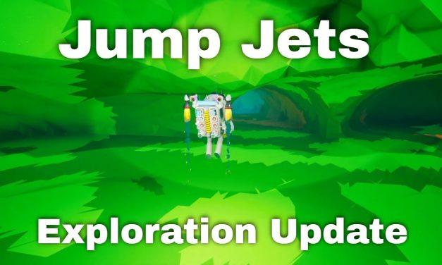 Solid Fuel Jump Jets | Astroneer Exploration Update