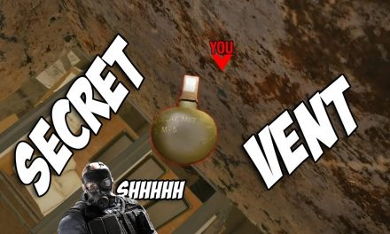 Secret Grenade Vent On Favela | Rainbow Six Siege